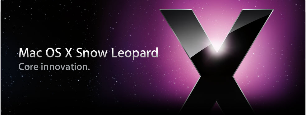 snowleopard teaserbild Apple Mac OS X Leopard