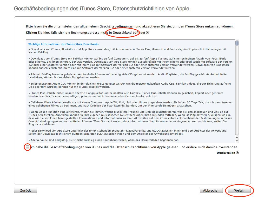 Allgemeine Geschäftsbedingungen DE Store Österreich