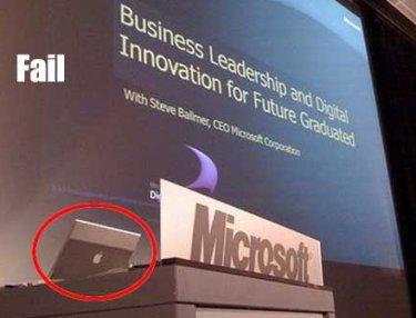 Microsoft nutzt jetzt auch Apple Notebooks Macbook Pro