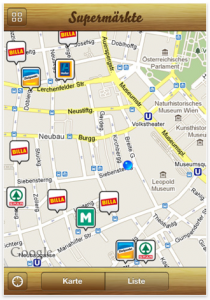 Google Maps ansicht Apple App Öffnungszeiten Österreich