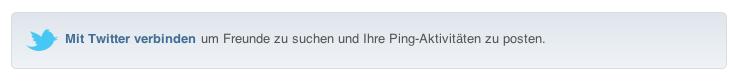 Twitter jetzt bei Apple Ping iTunes News Österreich