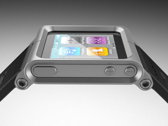 Armband LunaTik Apple News Mac Österreich ipod Nano