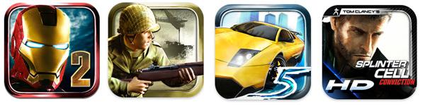 Splinter Cell, Iron Man, die Siedler, günstiger Apple iTunes iPhone iPad