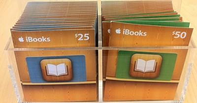 iBooks Gift Cards in US Märkten und Apple Store gesichtet