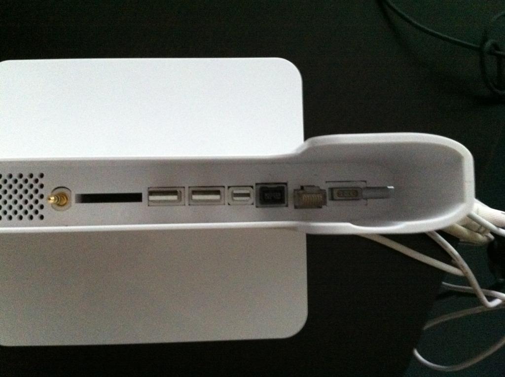 Aufbau des Henge Docks für Apple Macbook Pro