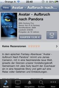 iTunes Store Österreich jetzt auch mit Videos