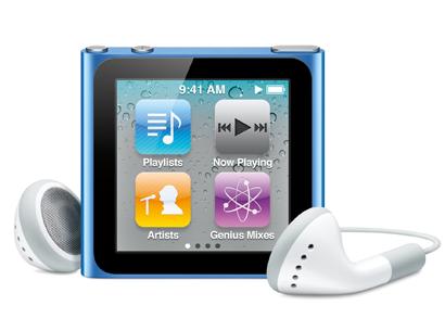 Teaser iPod Touch Apple News Österreich Schweiz iPod Nano