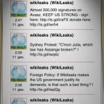 WikiLeaks App für iPhone iPad iPod touch Mac News Österreich Schweiz