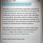WikiLeaks App für iPhone iPad iPod touch Mac News Österreich Schweiz 2