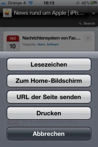 Homescreen hinzufüge  Mac Mania Apple Mac
