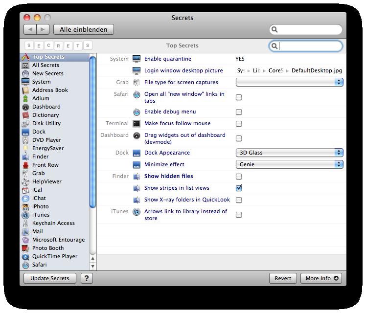 Apple News Österreich Mac Lesebestätigung Mac Os X Tipps Tutorial einrichten