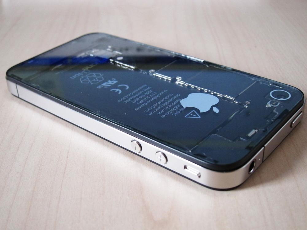 Apple News Österreich Case Modding iPhone 4 Transparent