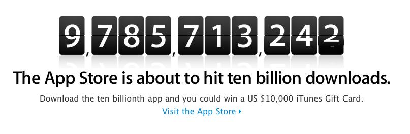 Apple App Store 10 Milliardster Download Apple News Österreich Mac