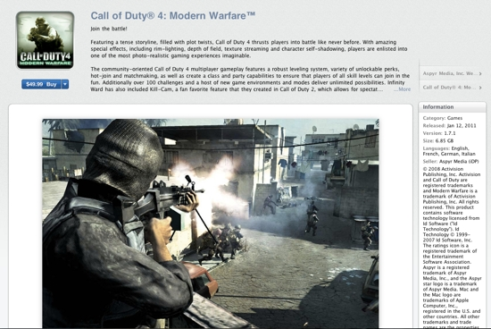 Call of Duty im Mac App Store - Apple News Österreich Mac