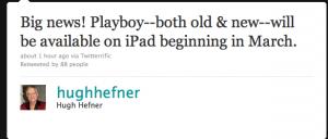 iPad App Playboy Webapp NEws Österreich Schweiz Apple Mac