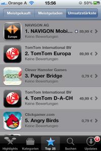 Bewertung App Store funktioniert nicht Apple News iPhone iPad Österreich Schweiz