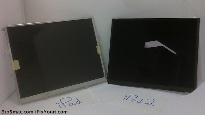 iPad 2 Bildschirm aufgetaucht!