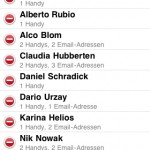 Apple SMS Gruppen, Gruppenversand, iPad iPod Touch, iPhone News Österreich