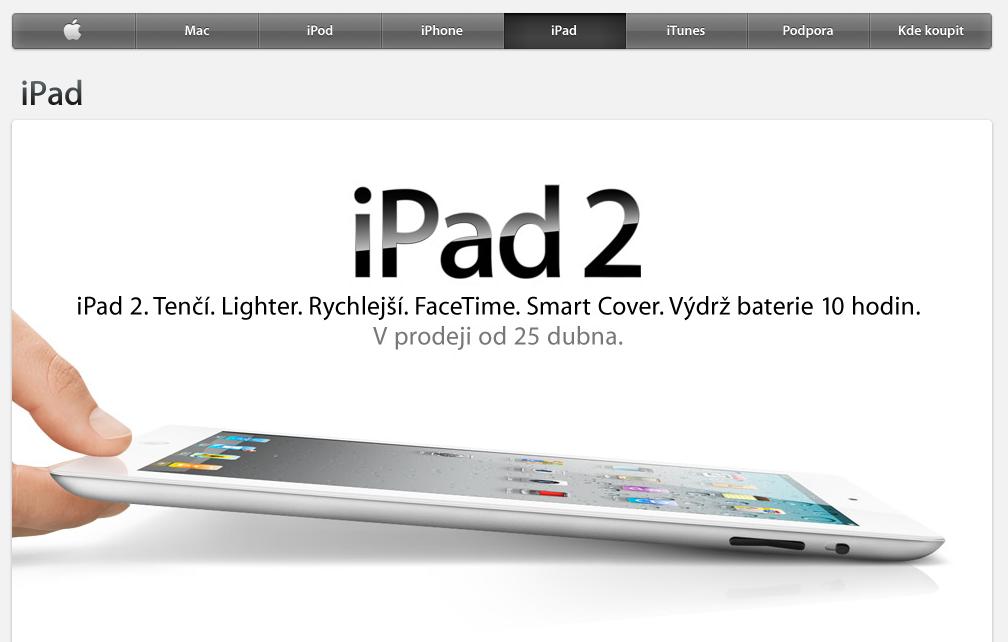 Apple News Österreich iPad 2 tschechin versandzeit