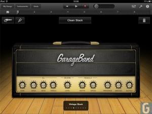 Apple News Österreich Mac Garage Band iPad 2 - Song