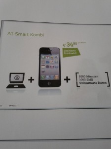 A1 Smart Kombi - Apple News iPhone Tarif Internet