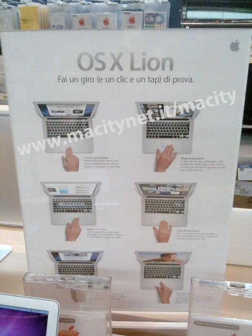 Apple News Österreich Lion OS X