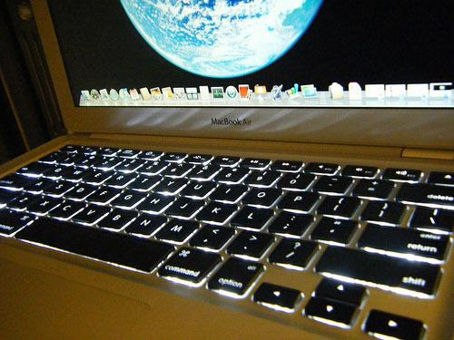 Apple, News, Österreich Mac Macbook Air Backlight Tastaturbeleuchtung