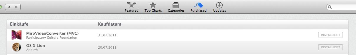 Erstellen eines Boot-BackUps von OS X Lion