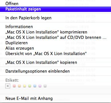 Anleitung Apple Os X Lion Bootfähiger USB Stick News Mac Hilfe