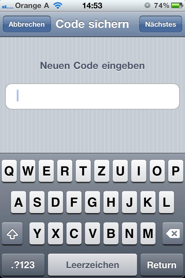 Tutorial verlängerte Codesperre iPhone 4, iPhone 5 und iPhone 6 IOS Help, Tipps und Tricks