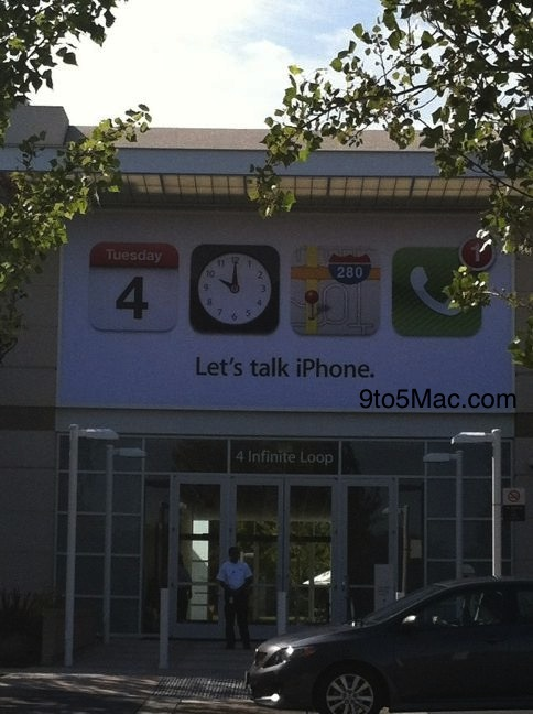 Let's talk iPhone 5 Banner Apple Campus News Österreich
