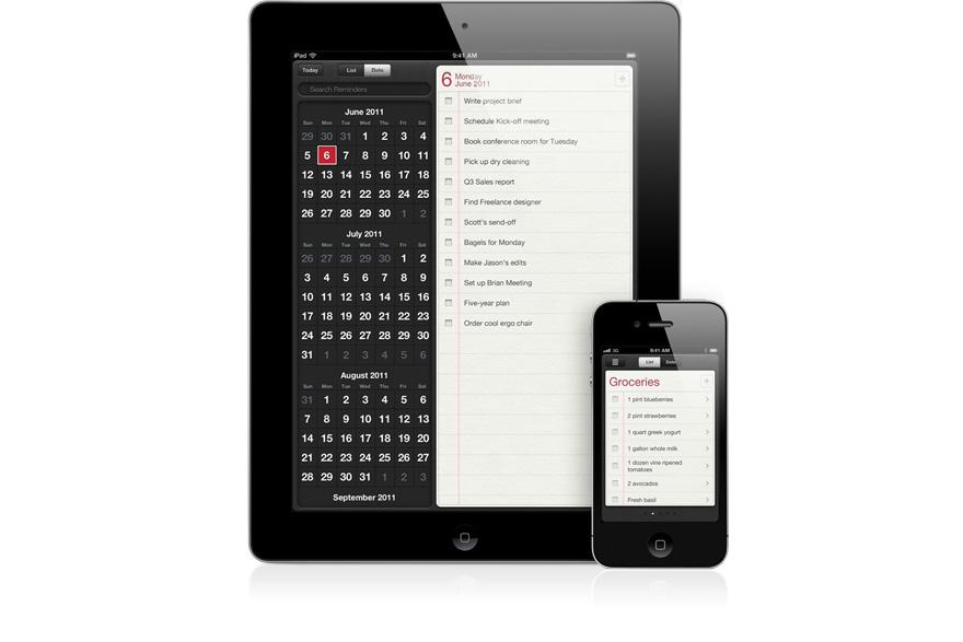 Apple News Österreich Erinnerung, Reminder iOS5 App