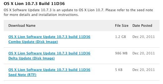 Os X Lion Update 10.7.3