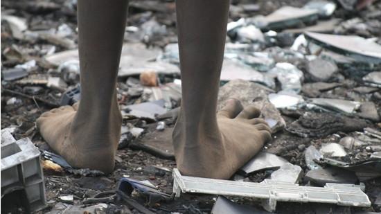 Quelle Futurezone , Afrika Müll