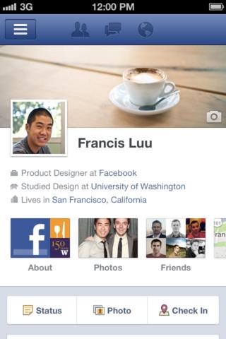 Apple Facebook App Update 4.1