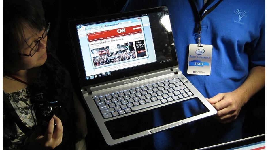 Intel Touchbook, neue Steuerung, Sprechen