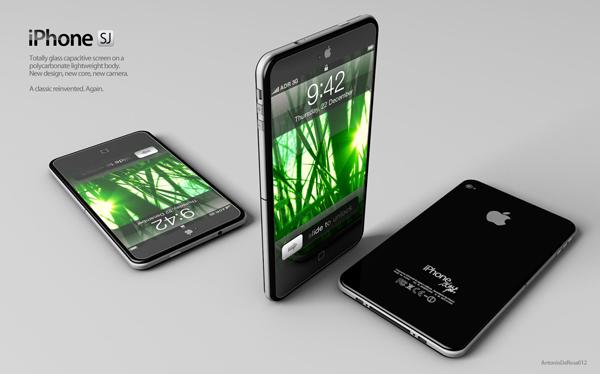 iPhone 5 Moke Up - Steve Jobs - iPhone JS