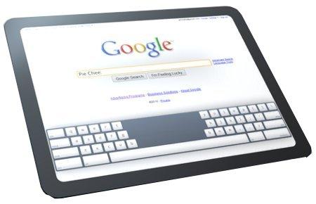 Google tablet 2012 erste Mokeups