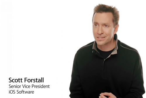 Scott Forstall Apple iPhone CEO