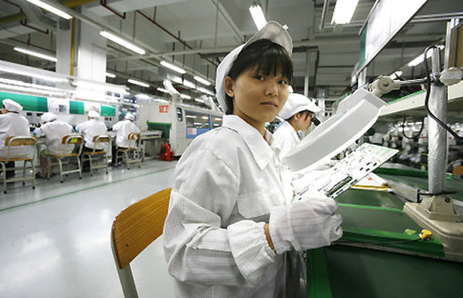Foxconn Apple Produktion iPhone iPad Macbook