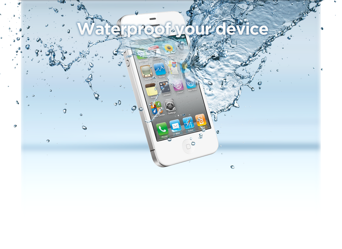 iPhone 4 wasserdicht, iPhone 4S ohne Wasserschaden