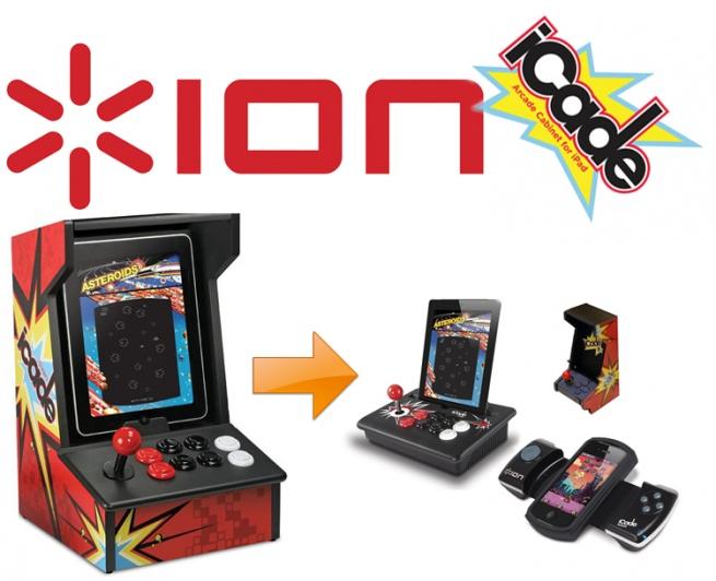 Xion Aufsatz für iPad und iPhone Nintendo Spielekonsole
