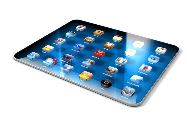 iPad 3 - 3D - HD Konzept