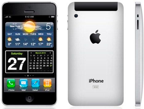 iPhone 5 Konzept, Design, MokeUP first look
