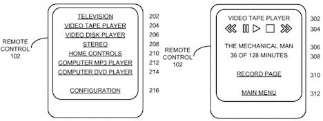 patent fernbedienung für apple Mac Touchscreen