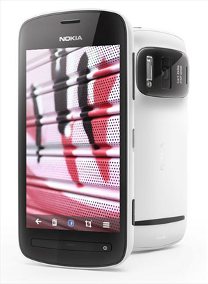 Nokia Lumia 808 Pro View