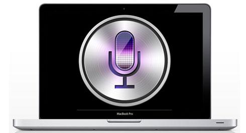 Mac mit Siri Unterstützung Mountain Lion