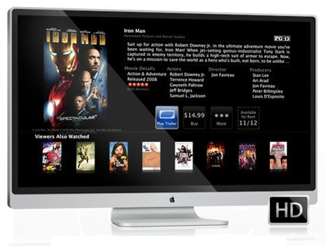 Apple iTV , Apple TV Designstudie