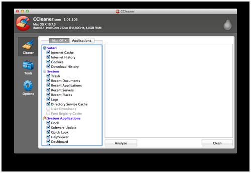 CCLeaner für Mac im Mac App Store erschienen