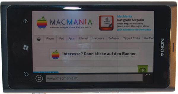 Apple News Österreicj, Mac, Lumia800, Fotos, MacMania